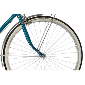 Creme Caferacer Uno Stadsfiets blauw/petrol